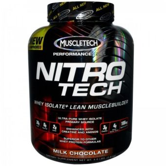 Muscletech Nitrotech Hardcore Performance BPOM - 4 lb
