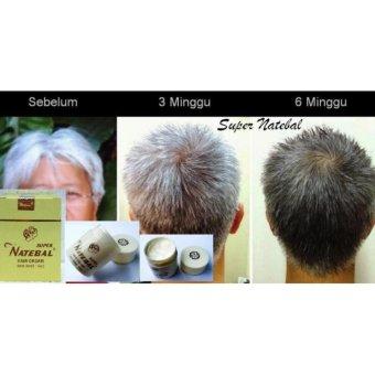 Harga NATEBAL HAIR CREAM / PENGHITAM RAMBUT Murah