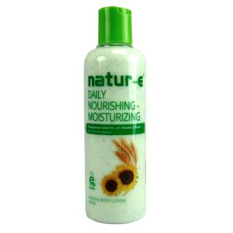 Natur-E Daily Nourishing Moisturizing Hand & Body Lotion - 245ml