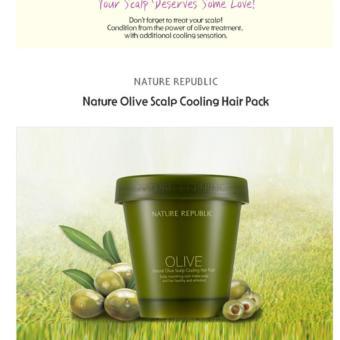 Harga Nature Republic Natural Olive Scalp Cooling Hair Pack 200ml Murah