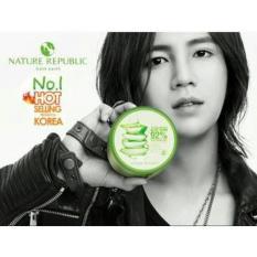 Nature Soothing & Moisture Republic 300ml Aloe Vera 92% Gel Original korea