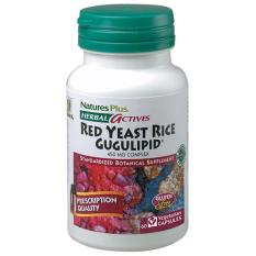 NATURE'S PLUS RED YEAST RICE/GUGULIPID 60 VCAPS untuk Jantung Sehat