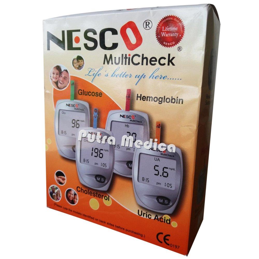 Belanja Terbaik Nesco Gcu 3in1 Alat Cek Gula Darah Kolesterol Asam Diabetes Autocheck 3 In 1 Urat Multicheck1