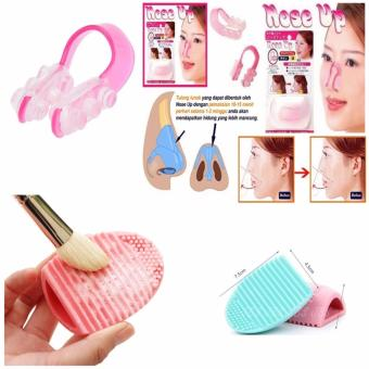 Nose Up Clipper - Alat Pemancung Hidung Alami - Pembersih Kuas Make Up Multi Colour