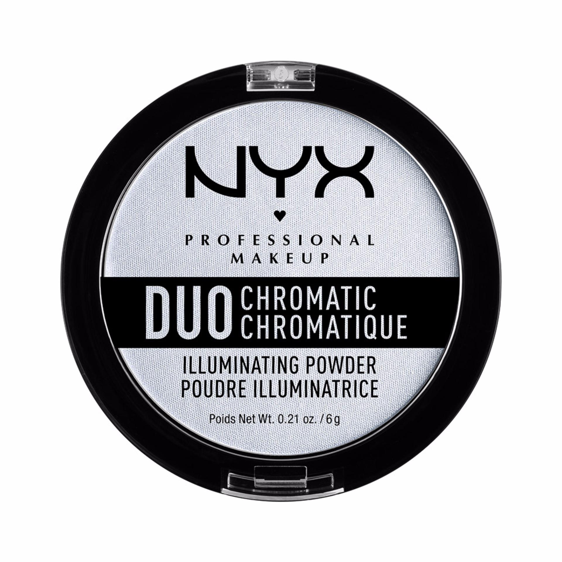 NYX Professional Make Up Duo Chromatic Illuminating Powder Twilight Twint- Bedak dengan .