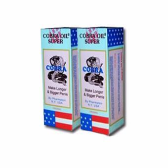Obat Terapi - Minyak Pembesar (Alat Pria) Cobraa Oil Ampuh - Bikin Besar Permanen
