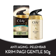 Olay Anti Aging - Pelembab Total Effects Day Cream Gentle 7 in 1 - 50gr