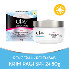 Olay Natural White Rich all in One Fairness Day Cream - 50gr