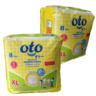 Oto Diapers Pants XL 8 Celana Diaper Dewasa