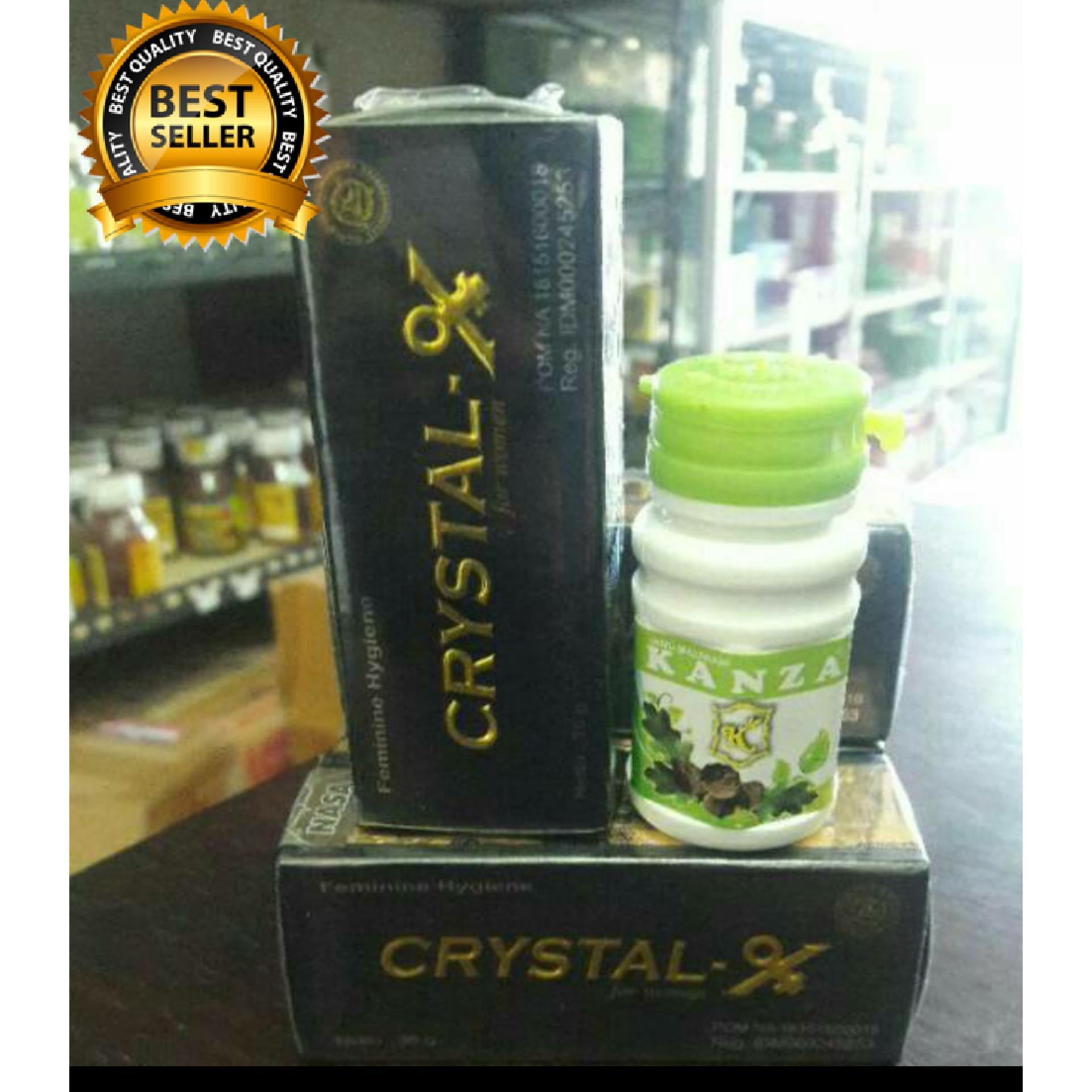 Flash Sale Paket Kewanitaan Cristal X Ori Manjakani Kanza Daftar Harga Crytal New