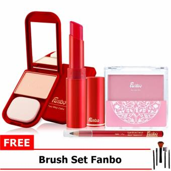 Gambar Paket Makeup Fanbo Fantastic (4in1) Free Brush Set