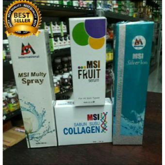 PAKET MSI 4in1 #Msi ion spray +msi multy spray +msi serum + msi sabun collagen