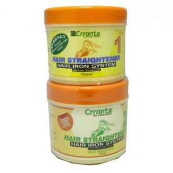 Paket Obat Pelurus Rambut Murah Meriah dari Crrante (2 x 130 ml) - Strong