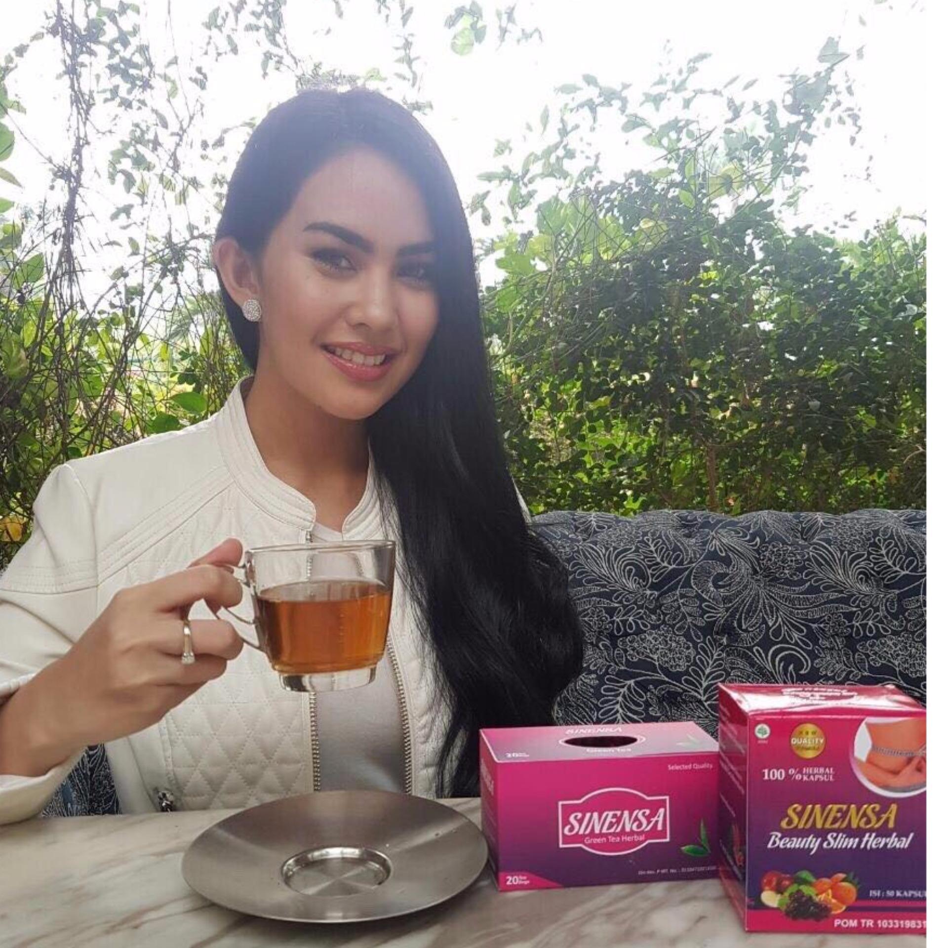 Online Murah Paket Pelangsing Dan Pemutih Herbal Sinensa Eshop Checker Beauty Slim Bpom Kapsul
