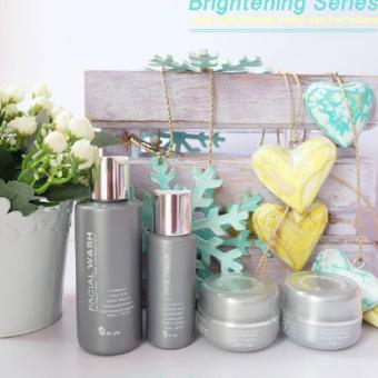 Paket wajah MS Glow Brightening Series/Paket Perawatan Memutihkan Wajah