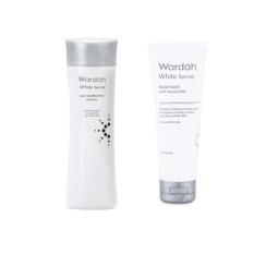 Paket Wardah White Secret Pembersih Wajah - 2pcs