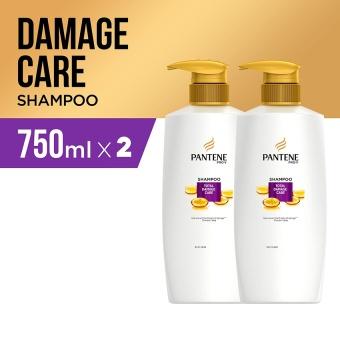 Pantene Shampoo Total Damage Care Quantum 750ml - PACK OF 2