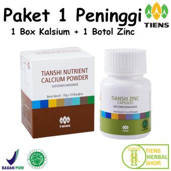 Peninggi Badan Tiens Nutrient High Calsium Powder Dan Zinc {PROMO}