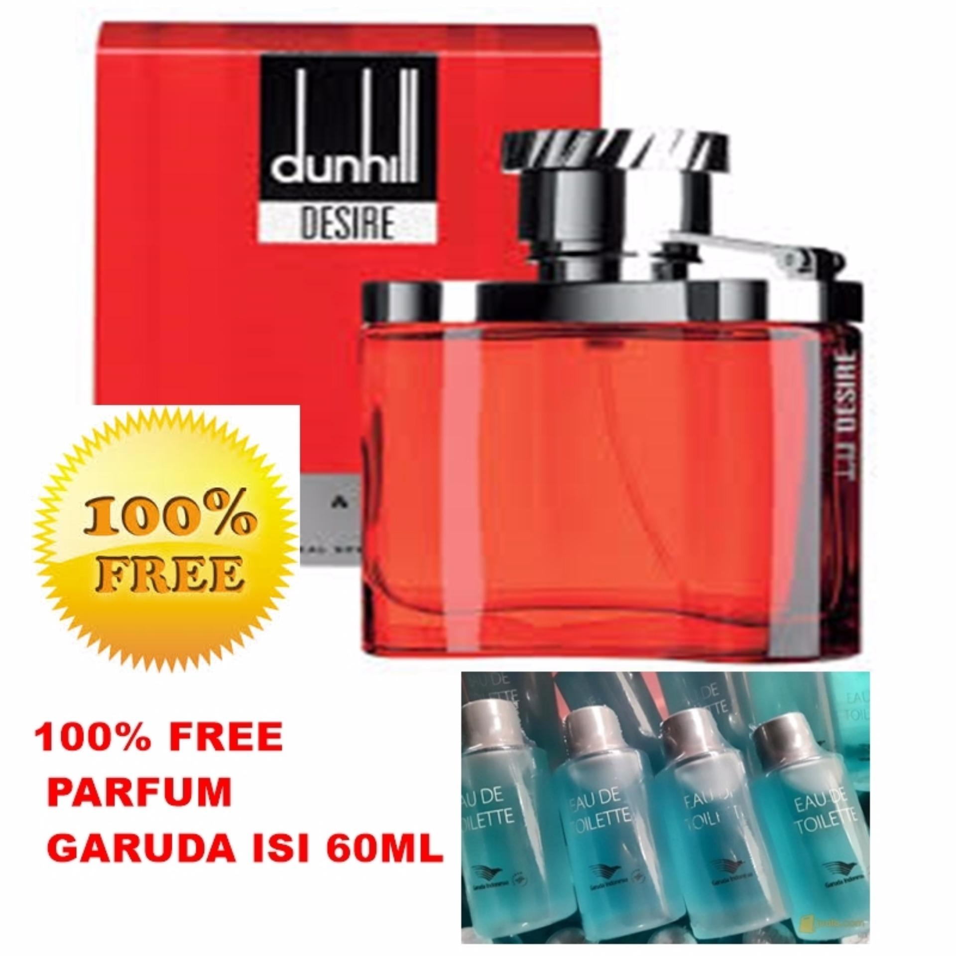Belanja Murah Perfums For Dunhill Desire Red Men 100ml Free Lavina Parfum Eau De Toilette Edt Maskapai Garuda Indonesia 60ml Flash Sale
