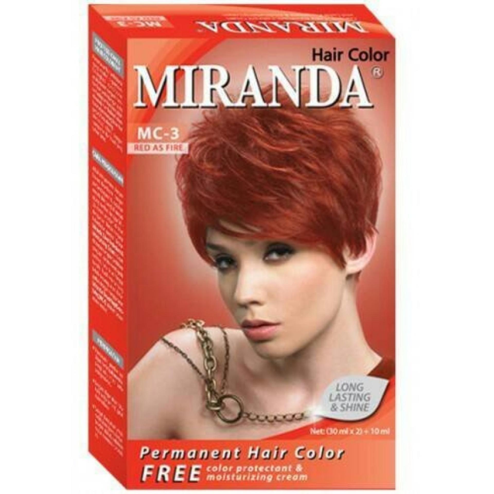 Cari Bandingkan Pewarna Rambut Terlaris Dari Miranda Hair Color Semir Top Cat
