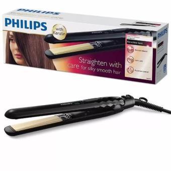Philips KeraShine Ionic Straightener Alat Catokan - HP8348 Hitam