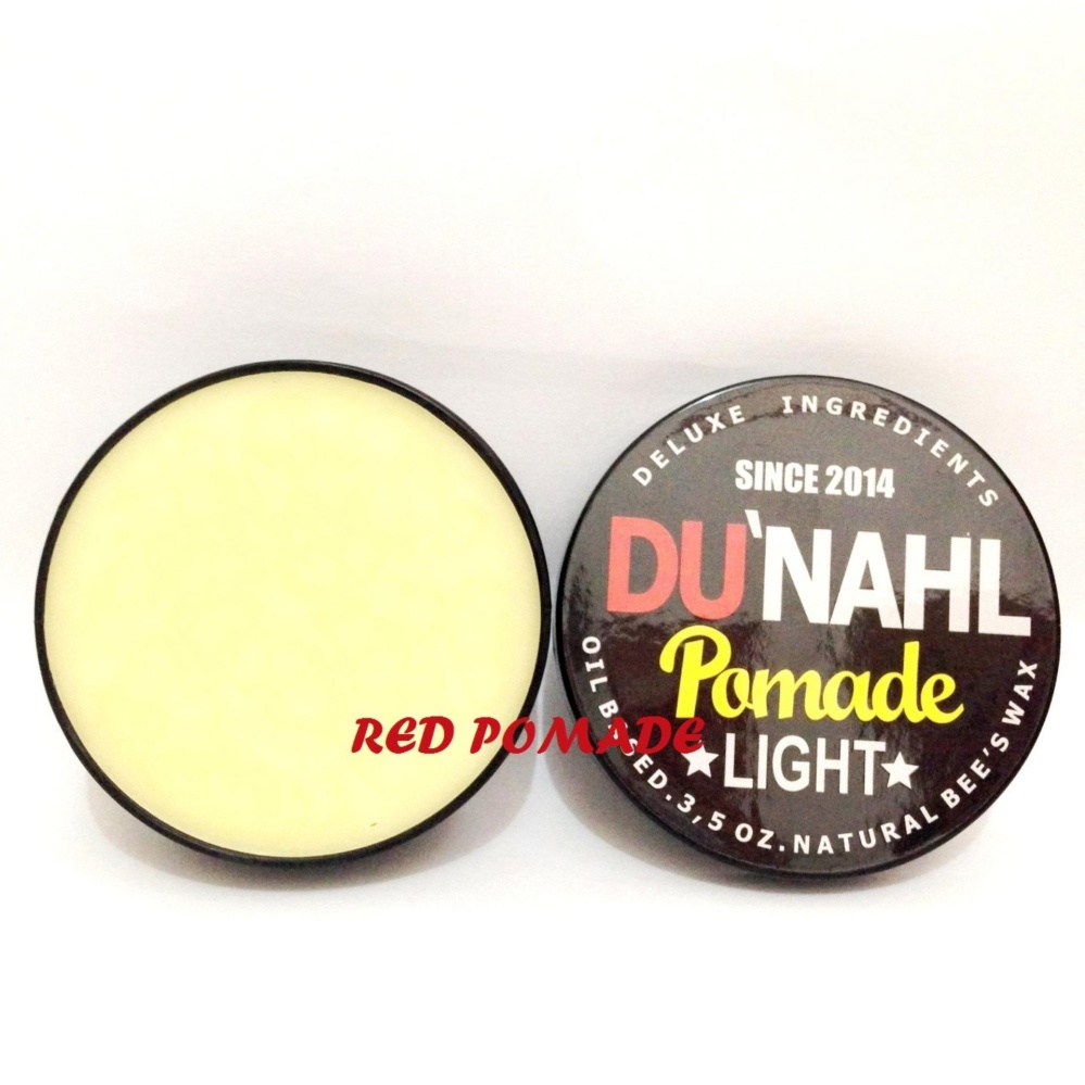 Pomade Dunahl Du'nahl Light / High Shine Oilbased Oil Based + Free Sisir Saku