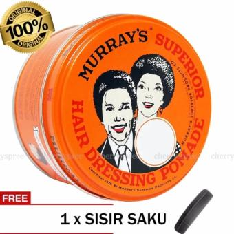 Pomade Murray's Superior 3 Oz Heavy Oilbased Hair Dressing Pomade/ Oil Based Paling Keras Strong