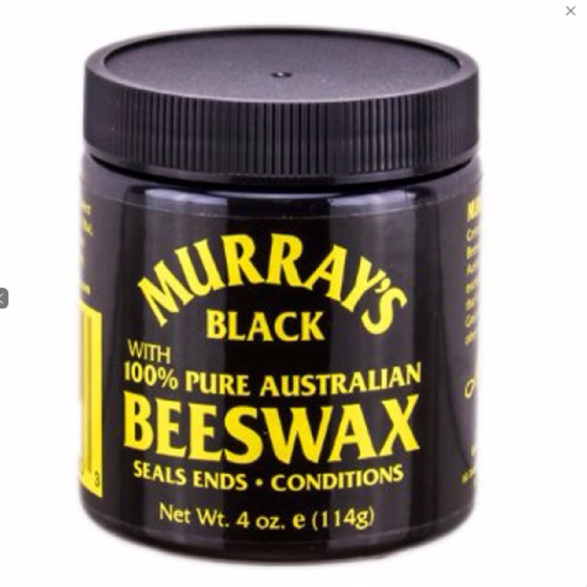 HEMAT..! Pomade Murrays Beeswax Black Terpopuler