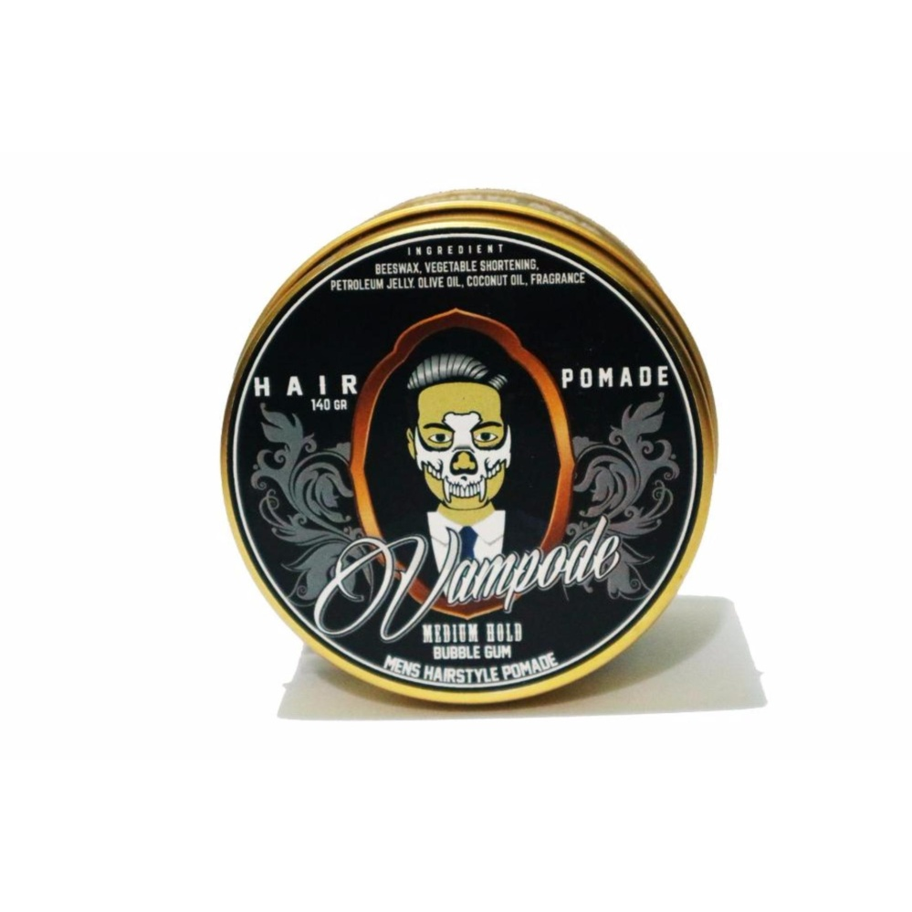 MURAH..! Pomade VAMPODE Bubble Gum Lokal [MEDIUM] Terlaris