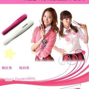 Harga Portable Wireless Hair Anion Ceramic Straightener FlatIronRechargable – intl Murah