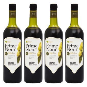 Primenoni - Noni Juice 100% - Paket 4 Botol