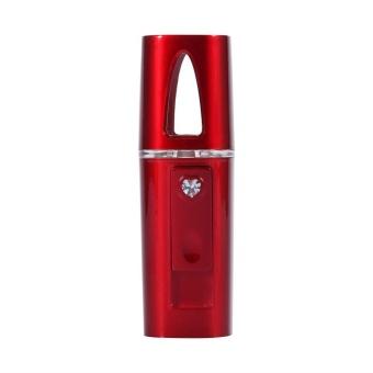 Pro Portable Face Nano Mist Spray Facial Moisturizing Handy Atomization Mister USB Beauty .