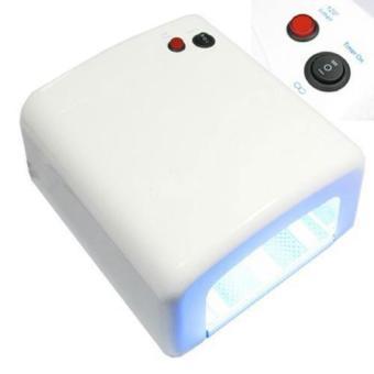 ... Professional JD818 UV Lamp Gel Curing Light Nail Art Tools 36Watt / Pengering kutek Lem UV ...