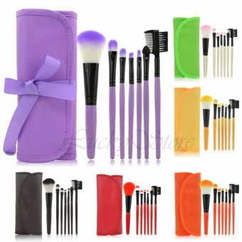 Professional Kuas Kosmetik Brushes - Kuas Make Up 7 Set - Random Color