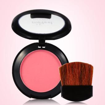 Professional Three-in-one Cosmetic Powder Makeup Blush WithBrush(2#) - intl