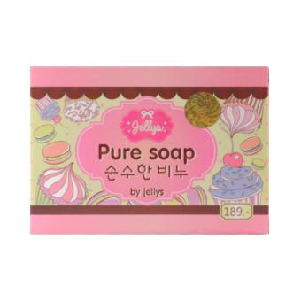 Pure Soap by Jellys - Sabun Pemutih Muka Dan Badan - 100 gram