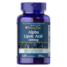 Puritan Alpha Lipoic Acid 600mg - 120 Kapsul