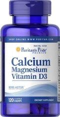 Puritan Pride Calcium Magnesium with Vitamin D - 120 Caps