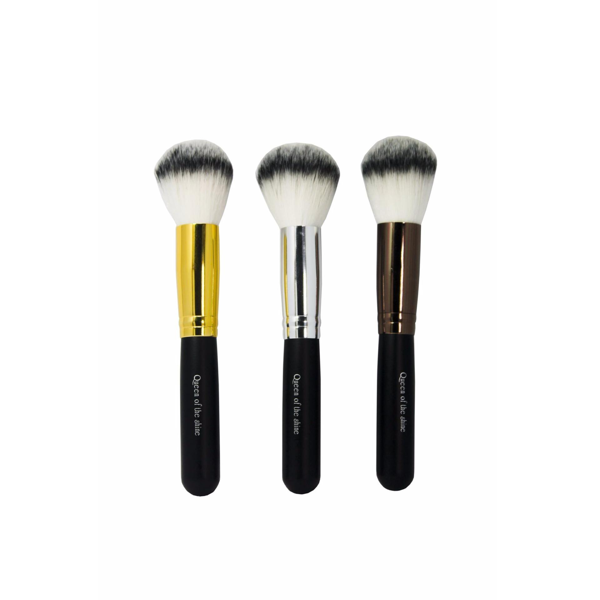 Queen Of The Shine Kuas Make Up / Powder Brush - Bronze ...