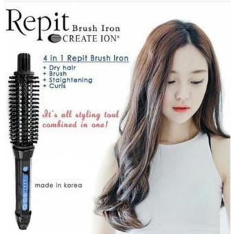 Harga Repit Brush Iron Sikat Repit Untuk Blow dan Stylish Rambut 26mmBest Seller Murah