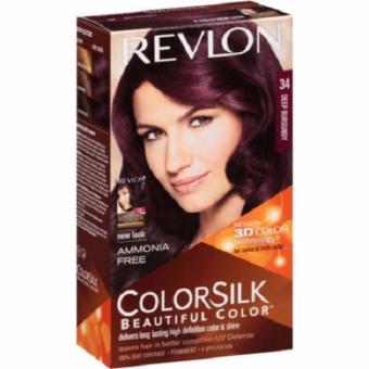 Harga Revlon Colorsilk Beautiful Color – no.34 Deep Burgundy Murah