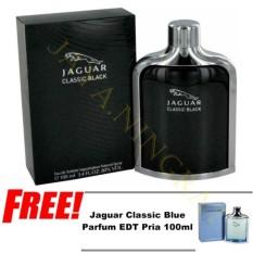 Ricko Jaya Parfum Classic Black EDT Pria 100ml - Free Classic Blue Parfum EDT Pria 100ml