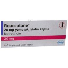 Roaccutane® Isotretinoin 20mg - 30 kapsul
