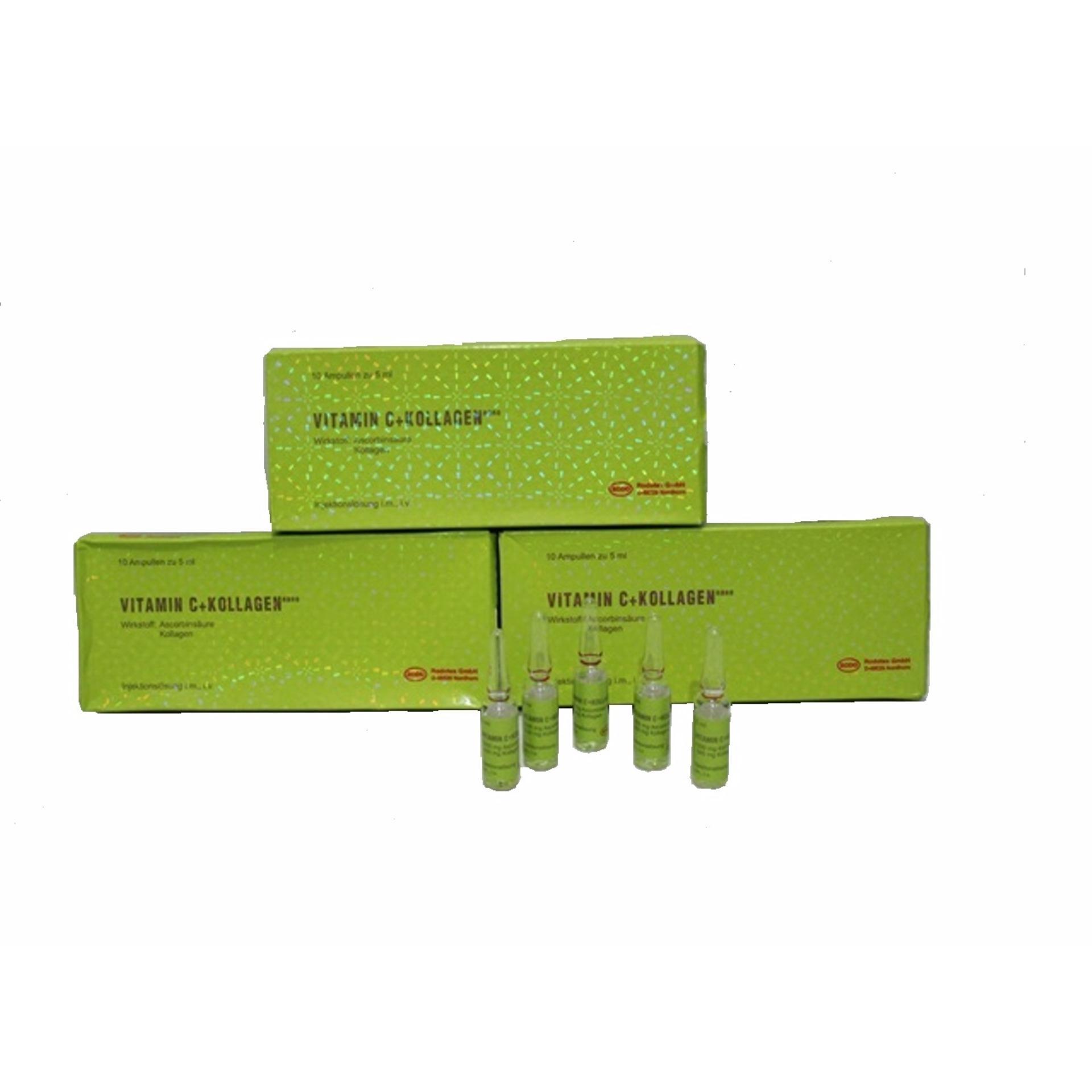 ... Rodotex Nano hijau ORIGINAL paket 2 box - Vitamin - C + Kollagen Original Germany ...