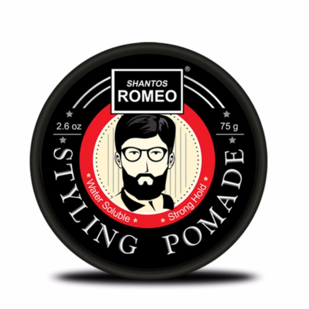 REVIEW Romeo Shantos Hair Styling Pomade Terbaik