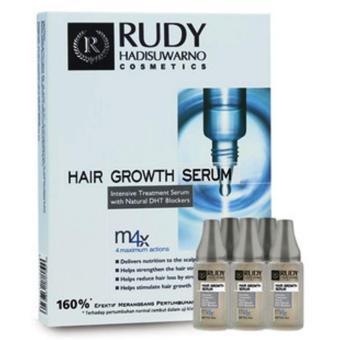 Harga Rudy Hadisuwarno Hair Growth Serum Penumbuh Rambut 6 Pcs – 9ml Murah