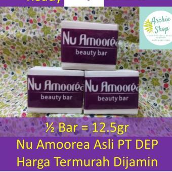 Sabun Nu Amoorea Beauty Bar 12.5 gr Atau Setengah Bar Original - 5