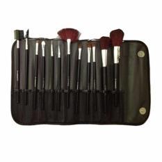 Set Full Bag Make up brush Make up Kayu Full Paket with bag - Kuas Make Up - 12 Buah