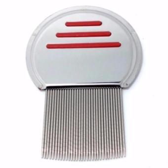 Harga Sisir Kutu Ketombe Metal Nit Lice Comb Murah
