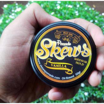 Harga Skews Pomade MEDIUM HOLD Vanilla Mini 50gr Murah